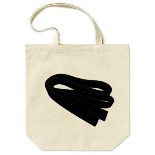 黒帯トートバッグの画像